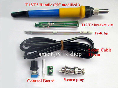 Soldering Iron Station Temperature Controller Kits for HAKKO T12/T2 Core Handle