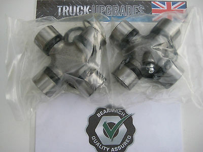 Land Rover Series 2, 2a, 3, Prop shaft Universal Joints x2, RTC3346, Bearmach