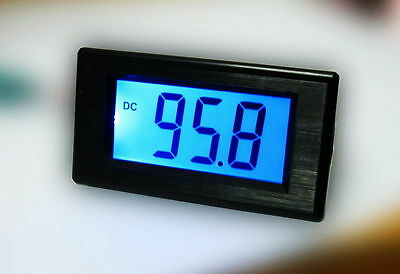 DC Blue 0-199.9mA 200mA Digital Panel Amp Current Meter Ammeter Milliammeter LCD