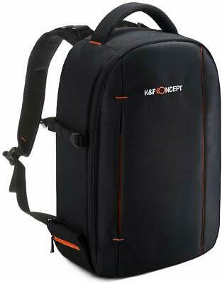 K&F Concept DSLR SLR Camera Backpack Bag Case Waterproof fr Canon EOS Nikon Sony