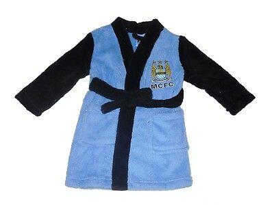 Baby Boys Official Manchester City Dressing Gown 12-18 Months