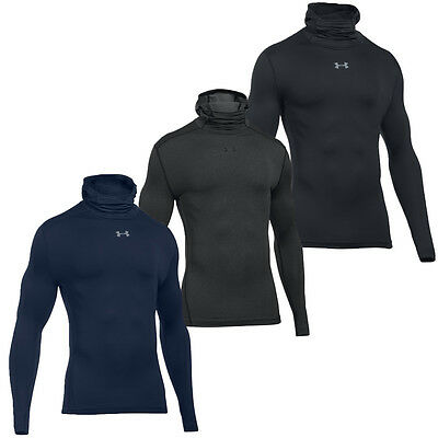 Under Armour 2016 Mens UA CG Armour Hood Compression Hooded Baselayer Top