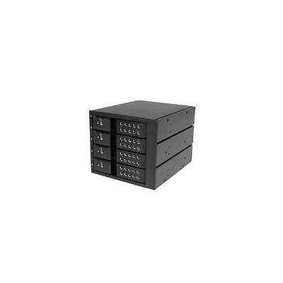 4 Bay Trayless Hot Swap Mobile Rack For 3.5 Inch Sas Ii/Sata Iii - 6 Gbps Hdd