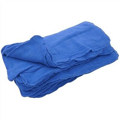500 New Great Textile Mechanics Shop Rags Towels Blue Jumbo 13X14 Ga Towels