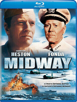 Heston/Fonda/Mitchum - Midway (2013, Blu-ray NEW)