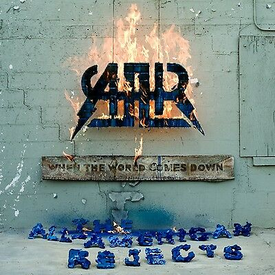 All American Rejects WHEN THE WORLD COMES DOWN New Starburst Colored Vinyl LP