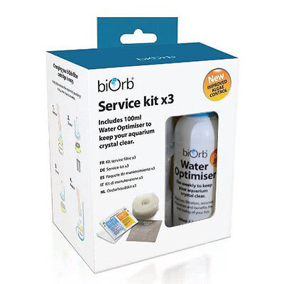 biOrb Service Kit with Water Optimiser (Pack of 3)