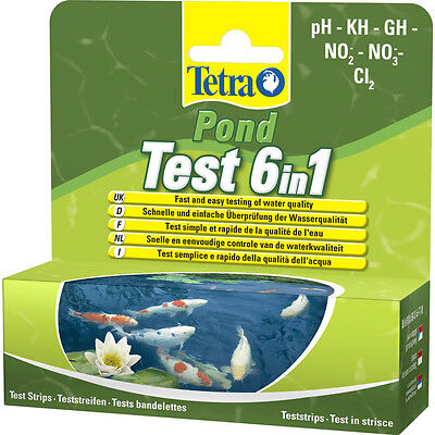 Tetra 6-in-1 Pond Test Strip - SAME DAY DISPATCH • EUR 15,78