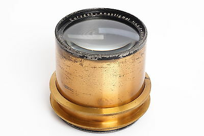 Rodenstock Eurygon-Anastigmat 4.5/36cm Brass Lens wet plate 8x10 up to 11x14