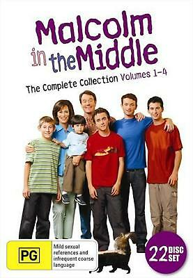 Malcolm In The Middle - The Complete Collection - DVD Region 4 Free Shipping!