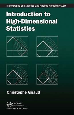 Introduction to High-dimensional Statistics by Christophe Giraud (English) Hardc
