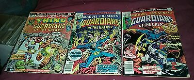 Guardians of the galaxy marvel presents 10 11 two in one 5 comics lot gd2. movie