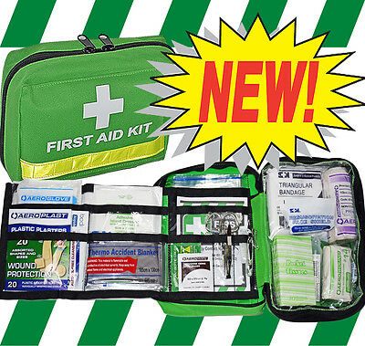 FIRST AID KIT - CAR / HIKING / CYCLING with FREE ITEMS