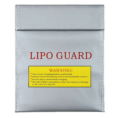 LiPo Guard Battery Fireproof Safety Charging Sack Pouch Case Bag