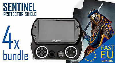 SENTINEL screen protector x4 bundle for PSP GO MATTE/CLEAR