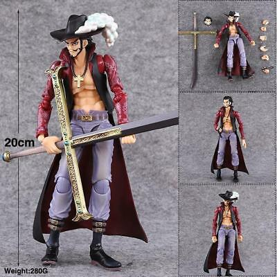 One Piece Dracule Mihawk Variable PVC Figure toy Anime Action Figurine Gift