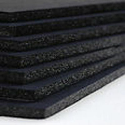 FOAMBOARD - 5mm A4 - 8 sheet pack -  Black Foam Core Board