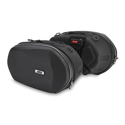 GIVI 3D600 Easylock Pair of expandable side bags saddle bags
