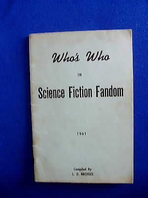 Who's Who in SF Fandom 1961: 1st edn, numbered #149. Bibliographical data  hoard