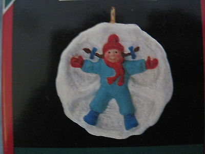 1990 Hallmark Miniature SNOW ANGEL Ornament NEW