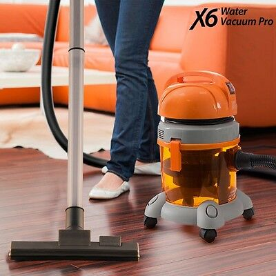 X6 Water Vacuum Cleaner Pro Home Cleaning Machine Hard Floors Carpets Sofas Rugs