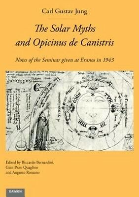 The Solar Myths and Opicinus de Canistris by Carl Gustav Jung Hardcover Book (En