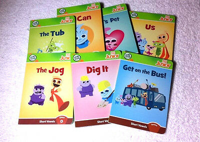 Leapfrog Tag Junior Reading Phonics Short Vowels Books Lot Of 7