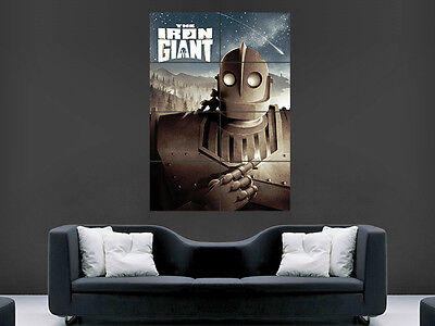 Iron Giant Movie Poster Film Cinema Classic Wall Art Picture Print Large
