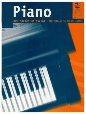 AMEB Piano Australian Anthology Preliminary to Fourth Grades Music Book *NEW*