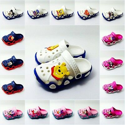 Children Garden Shoes Boys Girls Summer Slippers for Kids Baby Sandals