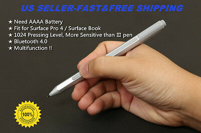 Genuine Stylus Pen for Microsoft Surface Pro 4 & Surface Book-Wireless Bluetooth