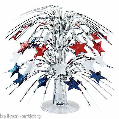 21.5cm Sports America USA Flag Party American Mini Cascade Table Decoration