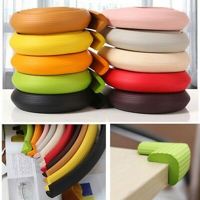 Colorful Safety Edge Corner Cushion Strip Bumper Guard  Protector Baby Softener