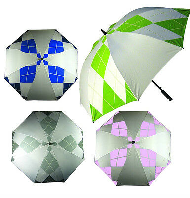 "Longridge Diamond Pattern  Wind proof Golf Umbrella - 60"" Span"