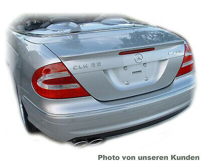 MERCEDES CLK C209 A209 209 Coupe SPOILER HECKFLÜGEL AMG Typ A LIPPE * SILBER 775