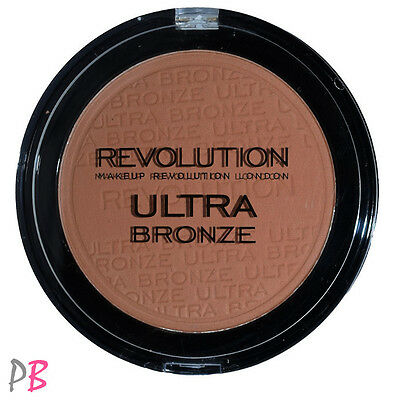 Makeup Revolution ULTRA BRONZE BRONZER Matte Bronzing & Contouring Powder Face
