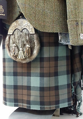 Alba Weathered 8 Yard Wool Made in Scotland Kilt Only £299 All Sizes Now £199