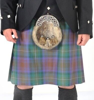Ilse of Skye 8 Yard Wool Made in Scotland Kilt Only £299 All Sizes Now £199