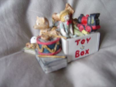 Peter Fagan Colour Box Bear Toy Box 1987 (Ref Z) Excellent Condition