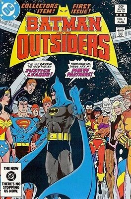 Batman And The Outsiders - 1 - 32, + Annuals 1 & 2