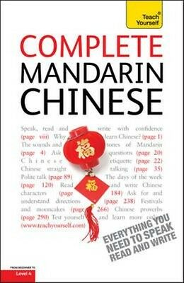 Complete Mandarin Chinese (learn Mandarin Chinese With Teach Yourself) by Elizab