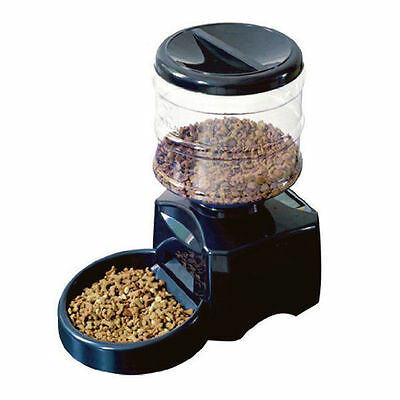 Automatic Pet Feeder Cat Kitten And Dog Puppy Auto Digital Timer Lcd Battery