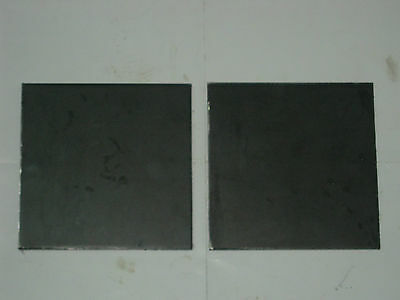 "STEEL  PLATES 1/4"" x 12"" x 12""  QTY 2 PCS"