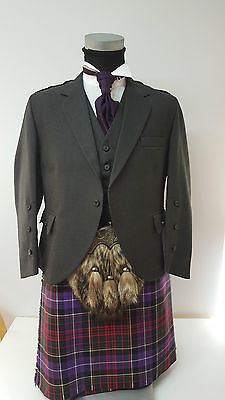 Haughey 8 Yard Wool Made in Scotland Kilt Only £299 All Sizes 4 £199