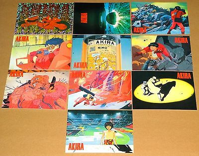 Akira Manga Sealed Mint Preview Set of 10 Trading Cards by Cornerstone (1994)