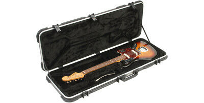 SKB MOLDED ELECTRIC GUITAR FLIGHT HARDSHELL HARD CASE - For Jaguar Jazzmaster