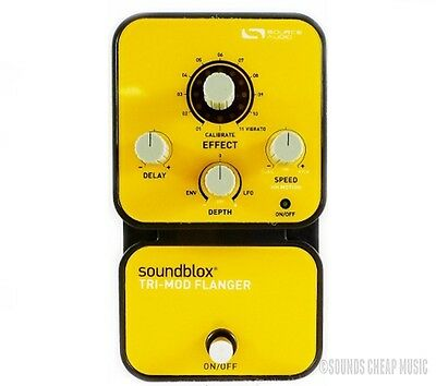 Source Audio Soundblox Tri-Mod Flanger Pedal (SA123) - New! Free Gift!