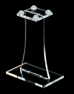 Lego compatible display stand - 80mm, plain, 4x4 top plate