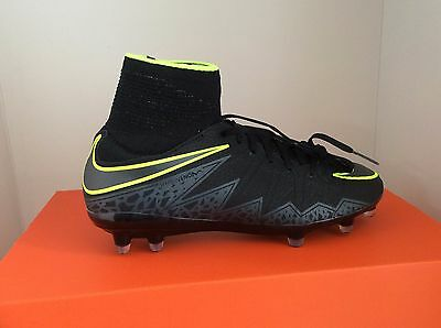 Nike Jr Hypervenom Phantom 2 FG Black Firm Ground Soccer Cleats