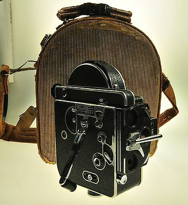 Paillard Bolex H16 Rex 16mm Movie Camera
